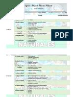 Jornalización de Ciencias Naturales