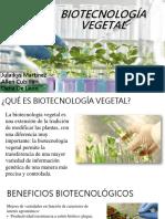 Biotecnología Vegetal