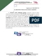 Consignacion de Poder. Fiscalia Valencia