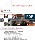 Polycom vs Tandberg Comparison Q1 2008