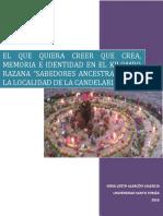 EL QUE QUIERA CREER QUE CREA, MEMORIA E IDENTIDAD EN EL KILOMBO ii.pdf