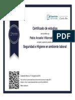 Pablo diploma