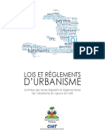 Lois d'Urbanisme