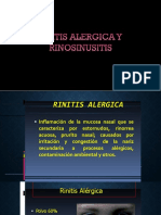Tema 7 Rinitis Aguda , Cronica Rinosinusitis