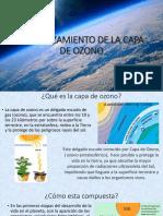ADELGAZAMIENTO DE LA CAPA DE OZONO.pptx