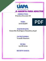 Actividad IV Practica Docente III