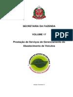 Vol. 17 Abastecimento de Veículos 2017