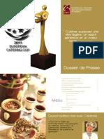 Dossier de Presse Europen Catering Cup