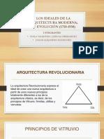 RESUMEN DE LOS IDEALES DE LA ARQUITECTURA MODERNA