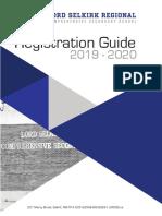 OFFICIAL 2019-2020 Registration guide