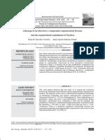 Liderasgo Directivo y Cultura Organizacional