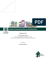 London Community Plan on Homelessness