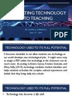 integrating technology into teaching models web version