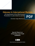 Odyssey in International Markets