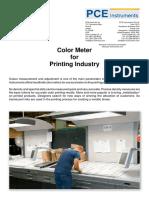 Color Meter Printing