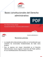 2. Bases Constitucionales Del Der. Administrativo