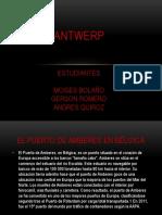Exposicion Antwerp-mercancia en Puerto