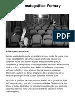 La crítica cinematográfica