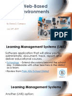 web-based environments web version