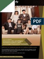 Brosur BankPermata bahasa prancis