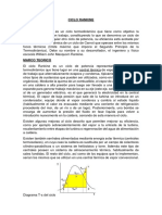 Informe Ciclo Rankine