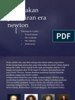 Pergolakan Pemikiran Era Newton
