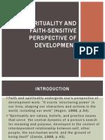 Spirituality and Faith-sensitive Perspective of Development