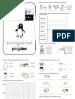 Leccion pinguino