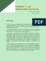 Internet y Las Transformaciones Sociales