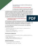 Cálculo diferencial U1, Act1 UnADM