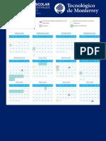 Calendario Escolar ITESM 2019 2020 Fechas Comunes