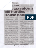 Business World, Aug. 14, 2019, First tax reform bill hurdles House panel.pdf