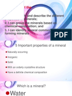 Lesson 7 Identifying Minerals