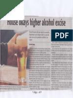 Daily Tribune, Aug. 14, 2019, House okays higher alcohol excise.pdf