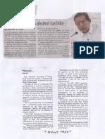 Manila Standard, Aug. 14, 2019, House panel okays alcohol tax hike.pdf