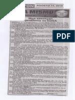 Ngayon, Aug. 14, 2019, Mga sasakyan problema sa EDSA.pdf