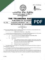 Acts Adoption to Telangana