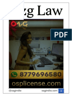 "Osp License - Agreement for ""Work From Home"" Facility - Ozg India"