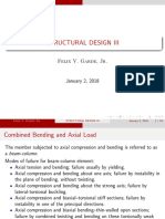 Bending and Axial