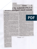 Philippine Star, Aug. 14, 2019, duterte to submit P4.1-T 2020 budget next week.pdf