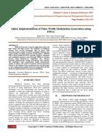 XilinxImplementationOfPulseWidthModulationGenerationUsingFPGA