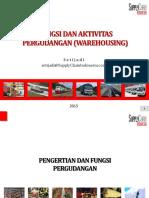 5. Fungsi Dan Aktivitas Pergudangan 2015