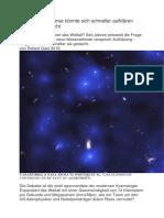 Hubble Kontroverse Um Hubble Konstante
