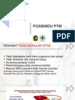 Posbindu PTM Kader Singkat