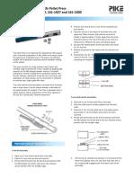 Hand Press Manual