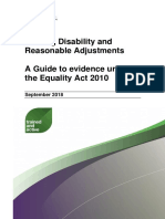 Proving Disability and Reasonable Adjustments Oct2018