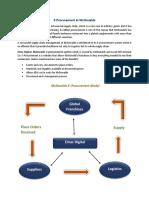 E-procurement and Suppliers
