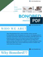 Mattress That Matters | Complete Mattress Guide | Bonobed Mattress PDF