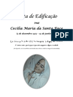Carta de Edificação Irmã Cecília