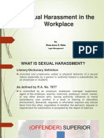 Sexual Harassment in the Workplace Report